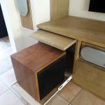 Meuble TV - logement spécial caisson de basse