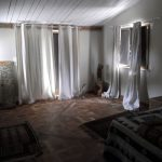 Gîte en Ardèche - photo intérieur rideaux