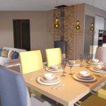 Appartement Mons Lauze salle à manger