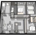 architecture intérieure - redistribution des pièces