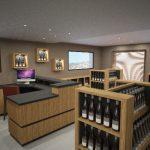 vue 3D magasin Delafont