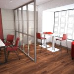 Agence Le Tuc Immobilier - Projet salle d'attente